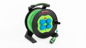 Leister kabeltrommel 230V 45m PUR 3 x 2.5mm2